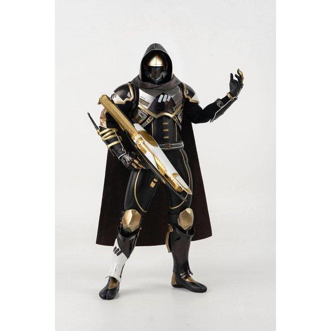 ThreeZero Destiny 2 Action Figure 1/6 Hunter Sovereign Golden Trace Shader 30 cm