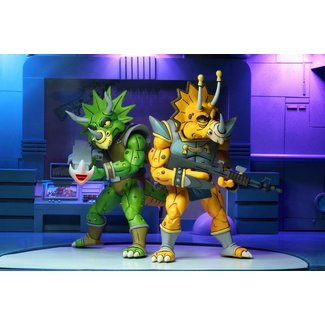 NECA  Teenage Mutant Ninja Turtles Action Figure 2-Pack Captain Zarax & Zork 18 cm