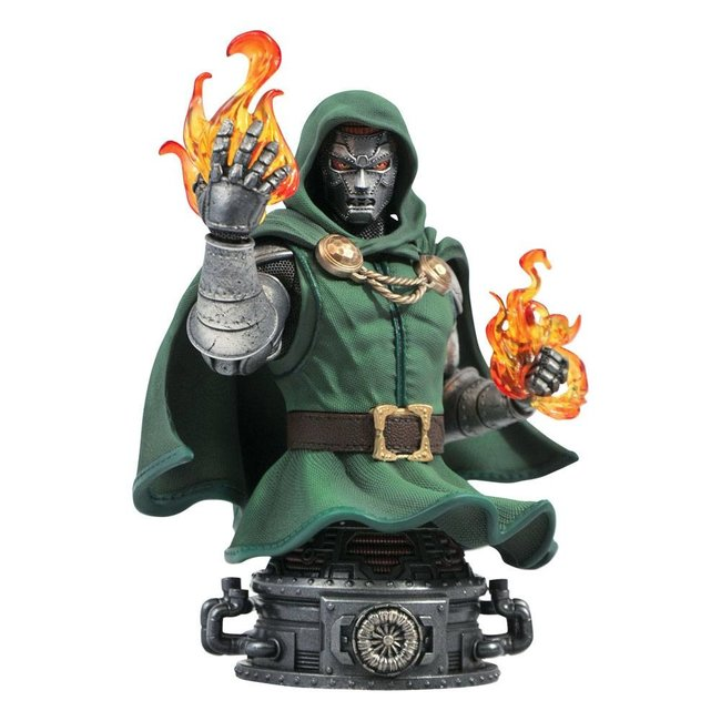 Diamond Select Toys Marvel Comics Bust Doctor Doom 15 cm