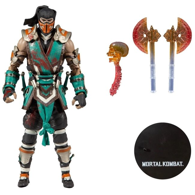 McFarlane Mortal Kombat 4 Action Figure Sub Zero Bloody 18 cm
