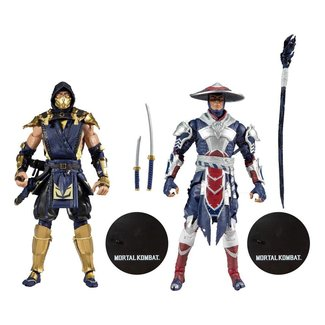 McFarlane Mortal Kombat Action Figure 2-Pack Scorpion & Raiden 18 cm