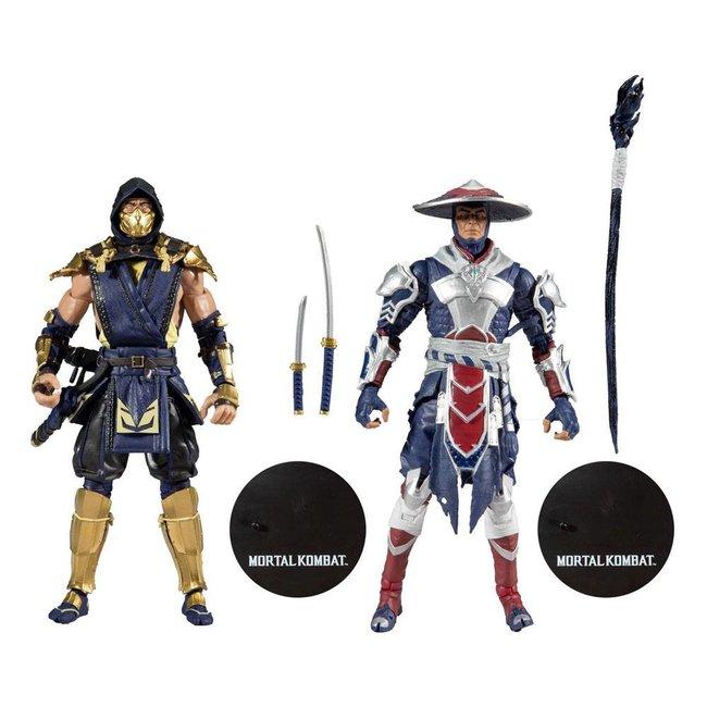 Mortal Kombat Action Figure 2-Pack Scorpion & Raiden 18 cm