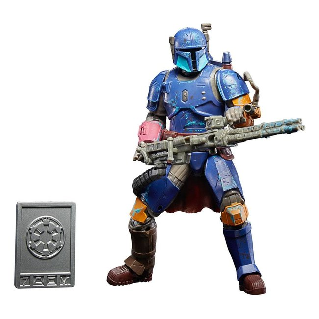 Hasbro Star Wars The Mandalorian Credit Collection Action Figure 2020 Heavy Infantry Mandalorian 15 cm