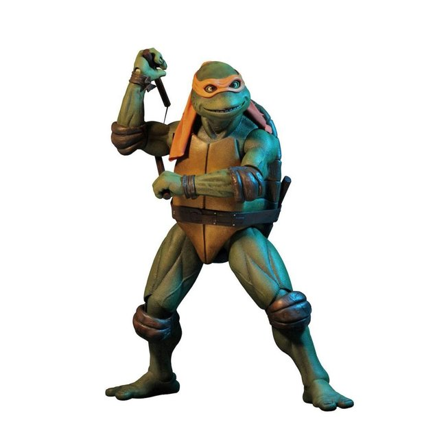 NECA  Teenage Mutant Ninja Turtles Action Figure 1/4 Michelangelo 42 cm