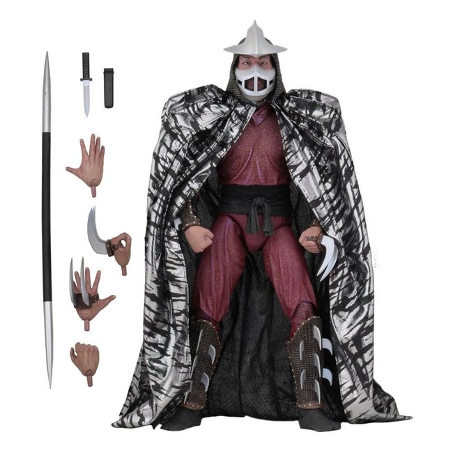 NECA  Teenage Mutant Ninja Turtles Action Figure 1/4 Shredder 46 cm