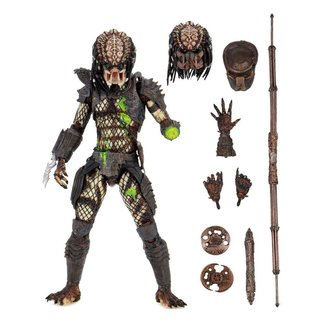 NECA  Predator 2 Action Figure Ultimate Battle-Damaged City Hunter 20 cm