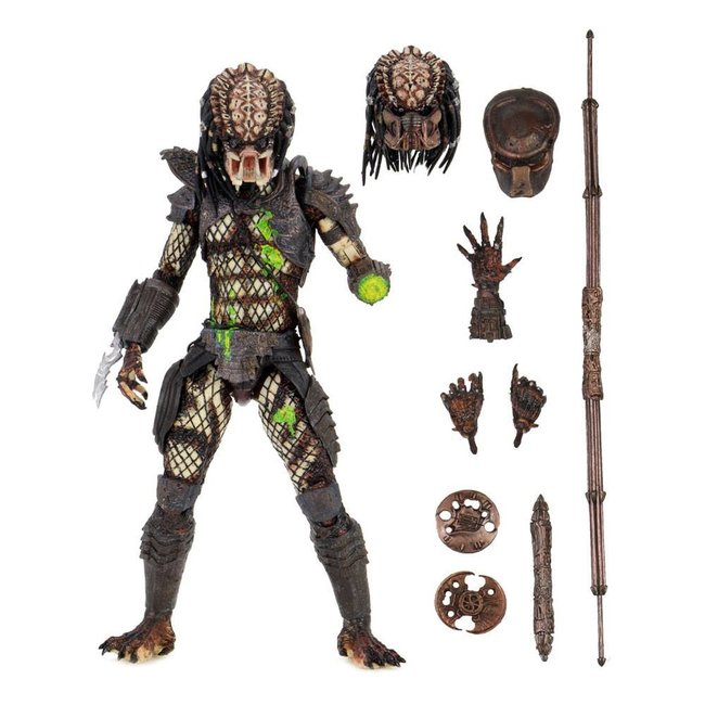 NECA  Predator 2 Action Figure Ultimate Battle-Damaged City Hunter 20 cm