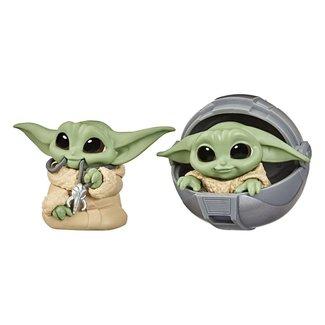 Hasbro Star Wars Mandalorian Bounty Collection Figure 2-Pack The Child Pram & Mandalorian Necklace