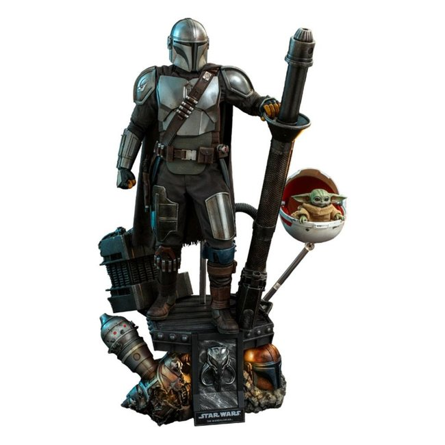 Star Wars The Mandalorian Action Figure 2-Pack 1/4 The Mandalorian & The Child Deluxe 46 cm