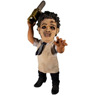 Mezco Toys Texas Chainsaw Massacre Mega Scale Action Figure with Sound Feature Leatherface 38 cm
