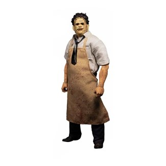 Mezco Toys Texas Chainsaw Massacre Action Figure 1/12 Leatherface Deluxe Edition 17 cm