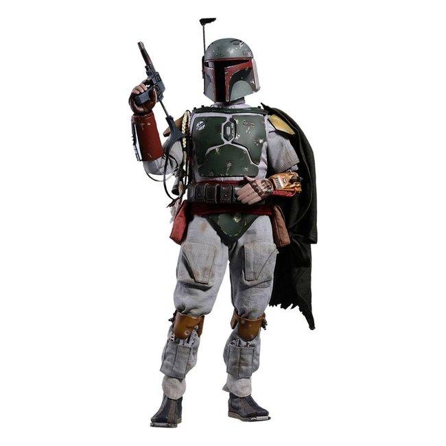Hot Toys Star Wars Episode V Movie Masterpiece Action Figure 1/6 Boba Fett 30 cm