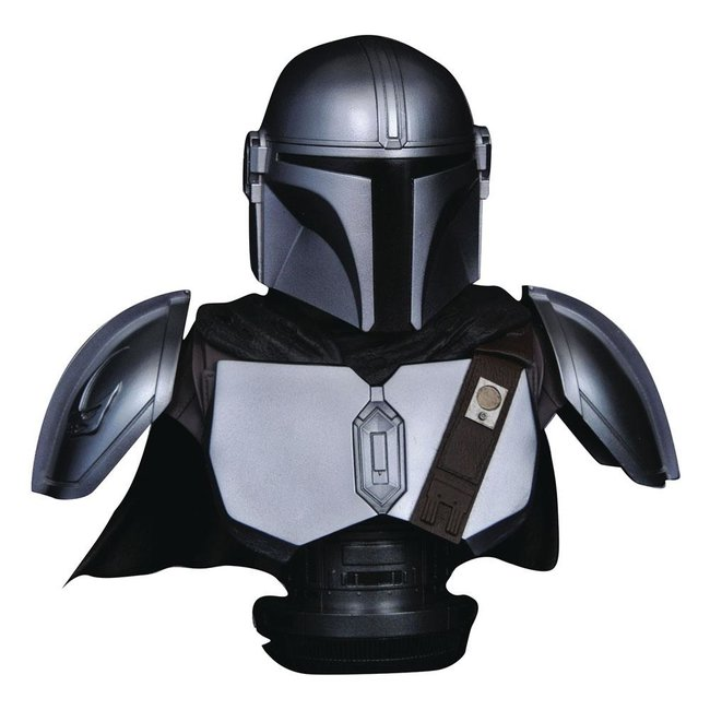 Diamond Select Toys Star Wars The Mandalorian Legends in 3D Bust 1/2 The Mandalorian Beskar Armor 25 cm
