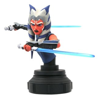 Gentle Giant Studios Star Wars The Clone Wars Bust 1/7 Ahsoka Tano 15 cm