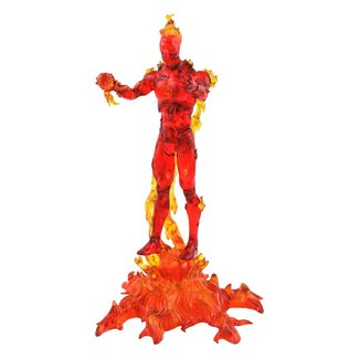 Diamond Select Toys Marvel Select Action Figure Human Torch 18 cm