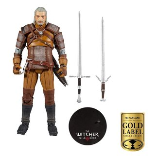 McFarlane The Witcher Action Figure Geralt of Rivia Gold Label Series 18 cm