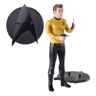 Noble Collection Star Trek Bendyfigs Bendable Figure Kirk 19 cm