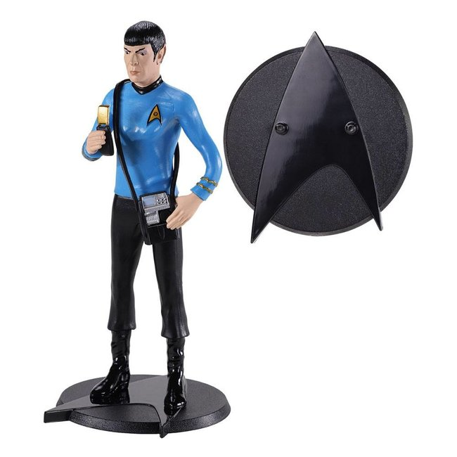Noble Collection Star Trek Bendyfigs Bendable Figure Spock 19 cm