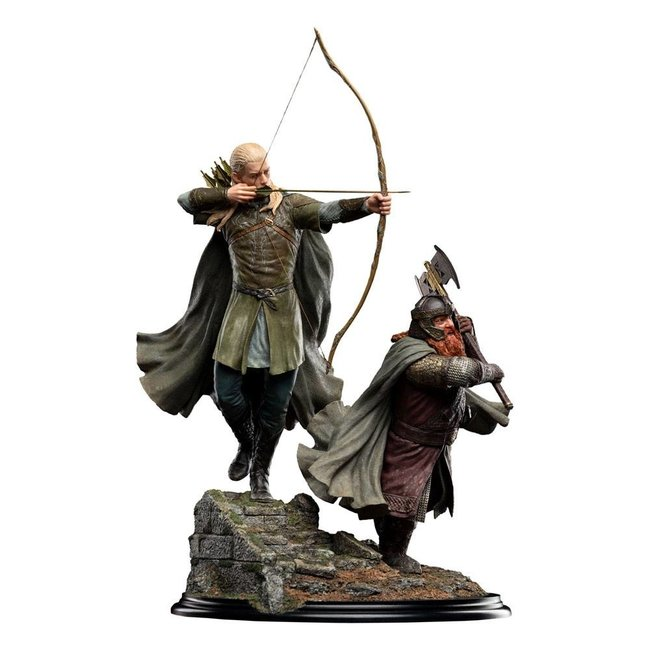 Weta Workshop The Lord of the Rings Statue 1/6 Legolas and Gimli at Amon Hen 46 cm