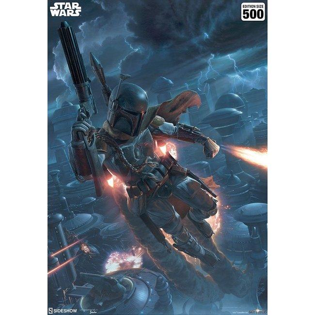 Sideshow Collectibles Star Wars Art Print The Mercenary 46 x 61 cm - unframed