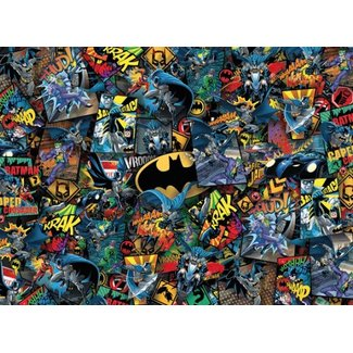 Clementoni DC Comics Impossible Jigsaw Puzzle Batman (1000 pieces)
