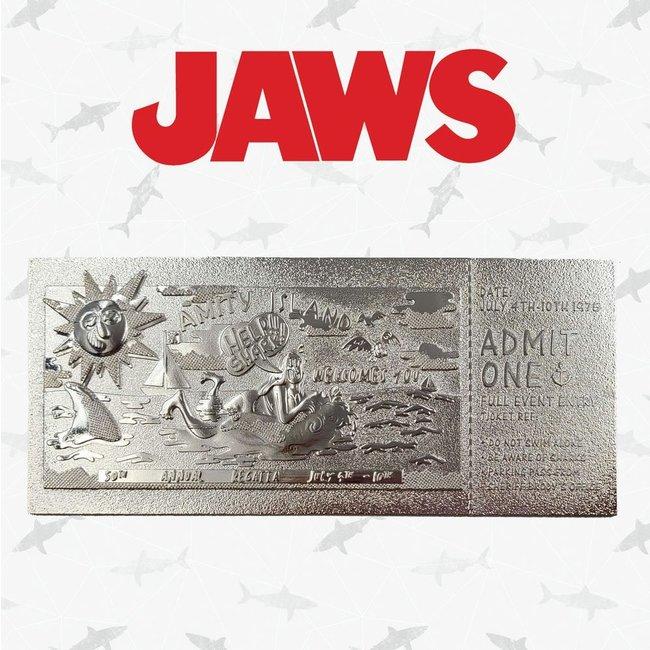 FaNaTtik Jaws Replica Regatta Ticket Limited Edition (silver plated)