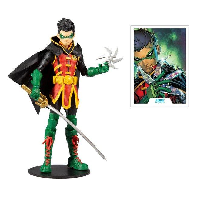 McFarlane DC Multiverse Action Figure Damian Wayne: As Robin 18 cm