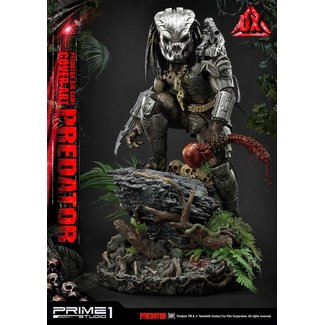 Prime 1 Studio Predator Statue Big Game Cover Art Predator Deluxe Version 72 cm