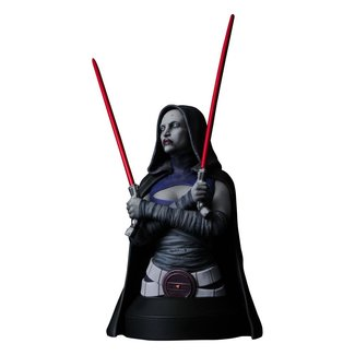 Gentle Giant Studios Star Wars The Clone Wars Bust 1/6 Asajj Ventress 15 cm