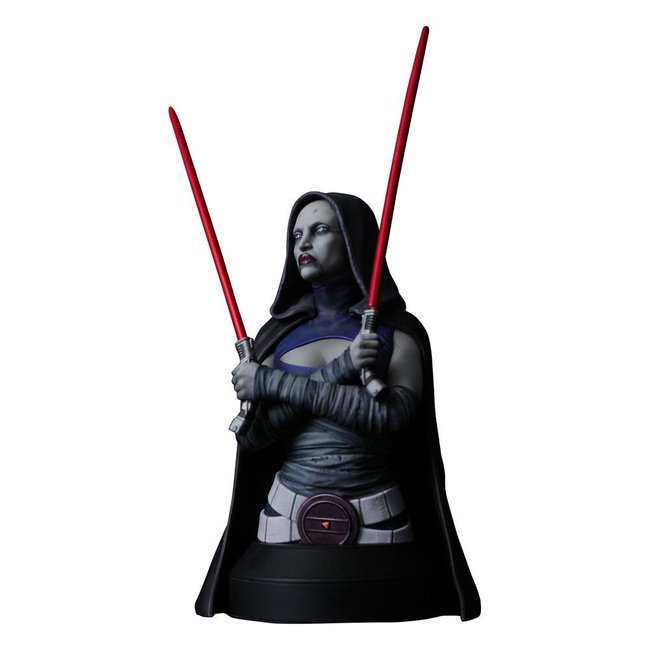 Gentle Giant Studios Star Wars The Clone Wars Bust 1/6 Asajj Ventress 15 cm