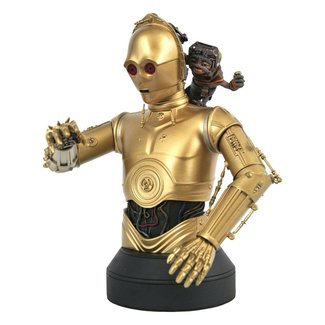 Gentle Giant Studios Star Wars Episode IX Bust 1/6 C-3PO & Babu Frik 15 cm