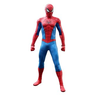 Hot Toys Marvel's Spider-Man Video Game Masterpiece Action Figure 1/6 Spider-Man (Classic Suit) 30 cm