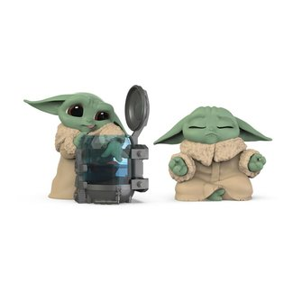 Hasbro Star Wars Mandalorian Bounty Collection Figure 2-Pack The Child Curious Child & Meditation