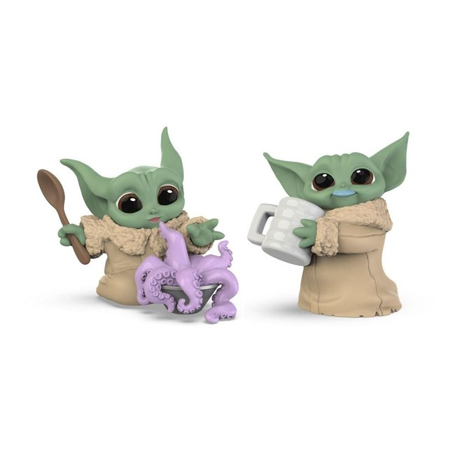 Hasbro Star Wars Mandalorian Bounty Collection Figure 2-Pack The Child Tentacle Soup & Milk Mustache