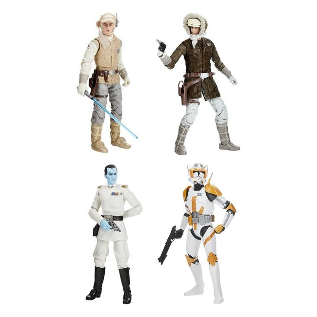 Hasbro Star Wars Black Series Archive Action Figures 15 cm 2021 50th Anniversary Wave 1 Assortment (4)