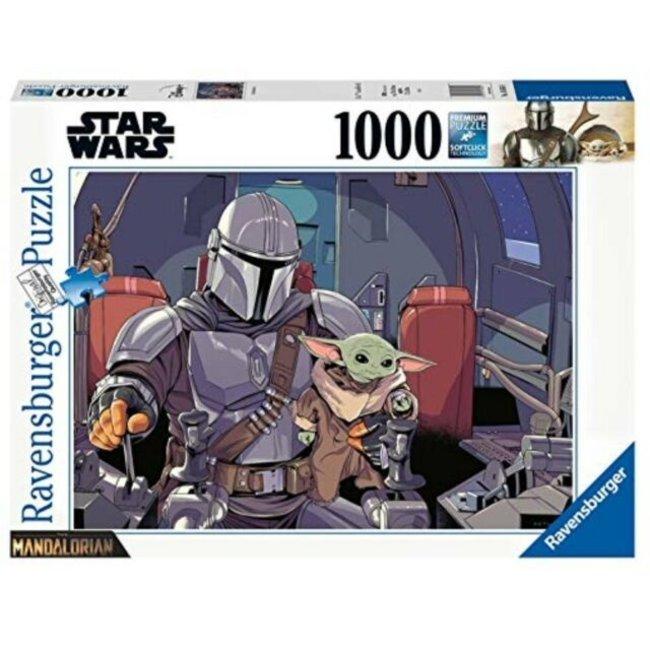 Ravensburger Star Wars The Mandalorian Jigsaw Puzzle Cartoon (1000 pieces)