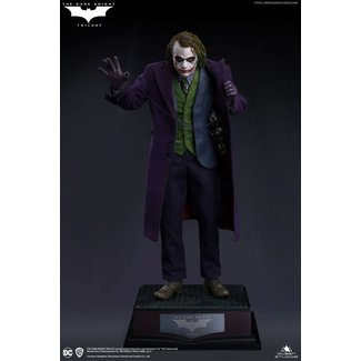 Queen Studios The Dark Knight Statue 1/4 Heath Ledger Joker Regular Edition 52 cm