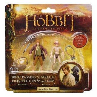3.75 Inch Bilbo Baggins & Gollum 2-pack AF