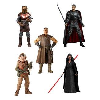 Hasbro Star Wars Black Series Action Figures 15 cm 2021 Wave 1 Assortment (5)