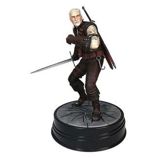 Dark Horse Comics Witcher 3 Wild Hunt PVC Statue Geralt Manticore 20 cm