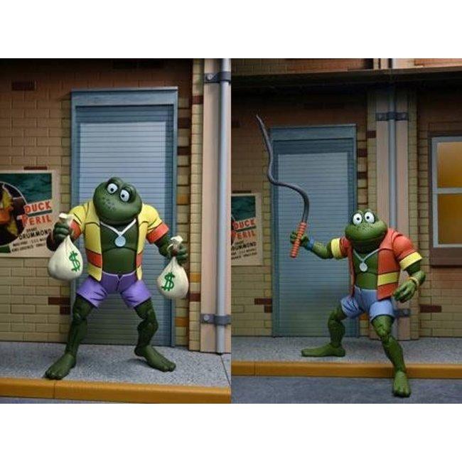 Teenage Mutant Ninja Turtles Action Figure 2-Pack Napoleon & Atilla Frog 18 cm