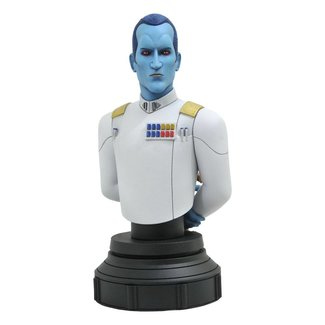 Gentle Giant Studios Star Wars Rebels Bust 1/7 Grand Admiral Thrawn 15 cm