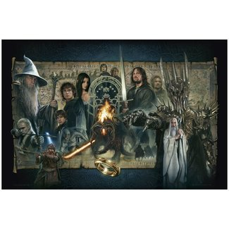 VanderStelt Studio Lord of the Rings Fine Art Print Giclee The Fellowship of the Ring 61 x 91 cm