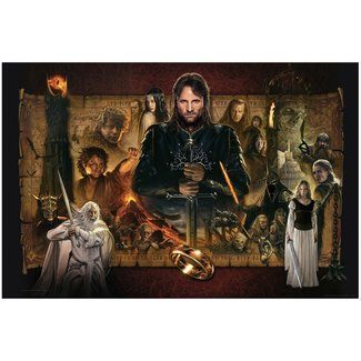 VanderStelt Studio Lord of the Rings Fine Art Print Giclee The Return of the King 61 x 91 cm