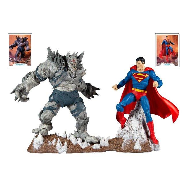 DC Multiverse Action Figure Collector Multipack Superman vs Devastator 18 cm