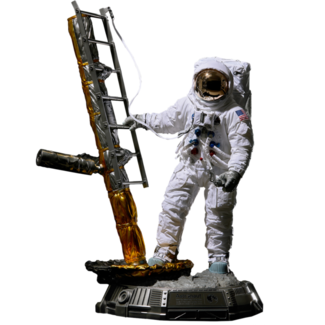 Blitzway The Real Superb Scale Hybrid Statue 1/4 Astronaut Apollo 11 : LM-5 A7L ver. 79 cm