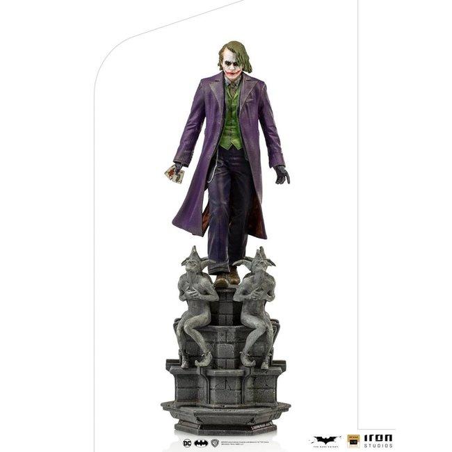 Iron Studios The Dark Knight Deluxe Art Scale Statue 1/10 The Joker 30 cm