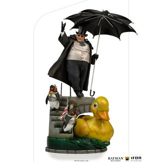 Iron Studios Batman Returns Deluxe Art Scale Statue 1/10 Penguin 33 cm