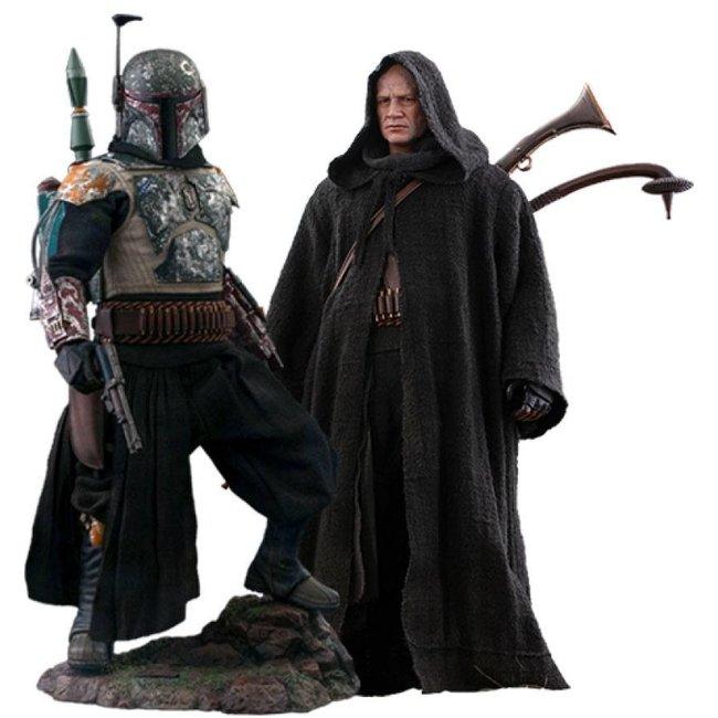 Star Wars The Mandalorian Action Figure 1/6 Boba Fett Deluxe 30 cm