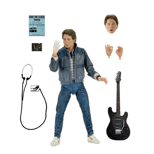 Back to the Future Action Figure Ultimate Audition Marty McFly 18 cm